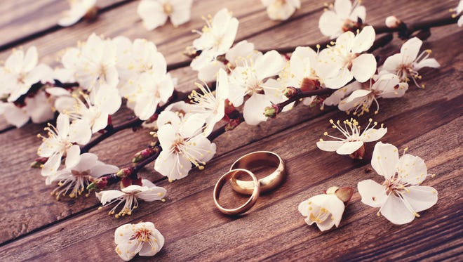 Getty Images/iStockphoto Wedding rings.