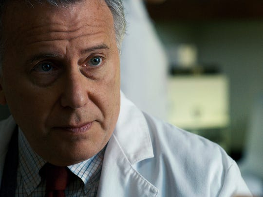 """Paul Reiser as Dr. Sam Owens in a scene from Season 2 of the Netflix smash hit """"Stranger Things."""" The Duffer Brothers wrote the character with Reiser in mind."""