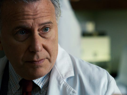 "Paul Reiser as Dr. Sam Owens in a scene from Season 2 of the Netflix smash hit ""Stranger Things."" The Duffer Brothers wrote the character with Reiser in mind."