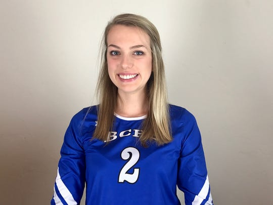 Dayna Grigsby, Barron Collier volleyball