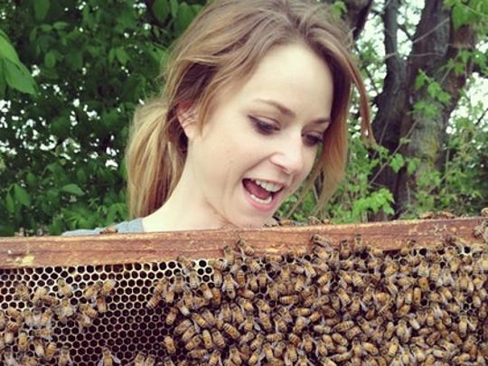Kate Franzman is the founder of founder of Bee Public, an organization that promotes beekeeping, sustainability and urban farming.