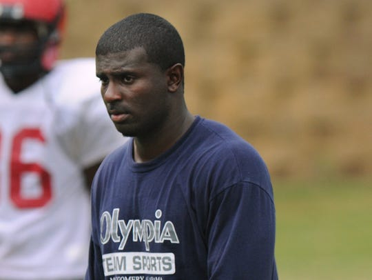 Derrick Ansley was a Huntingdon assistant coach for