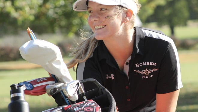 Macomb's Lily Vardaman finished second individually Tuesday at the Class 1A Rock Falls Sectional after losing in a playoff to champion Eva Greenberg of Rockford Boylan.
