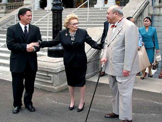 Abigail Kawananakoa,King of Tonga,Kippen de Alba Chu