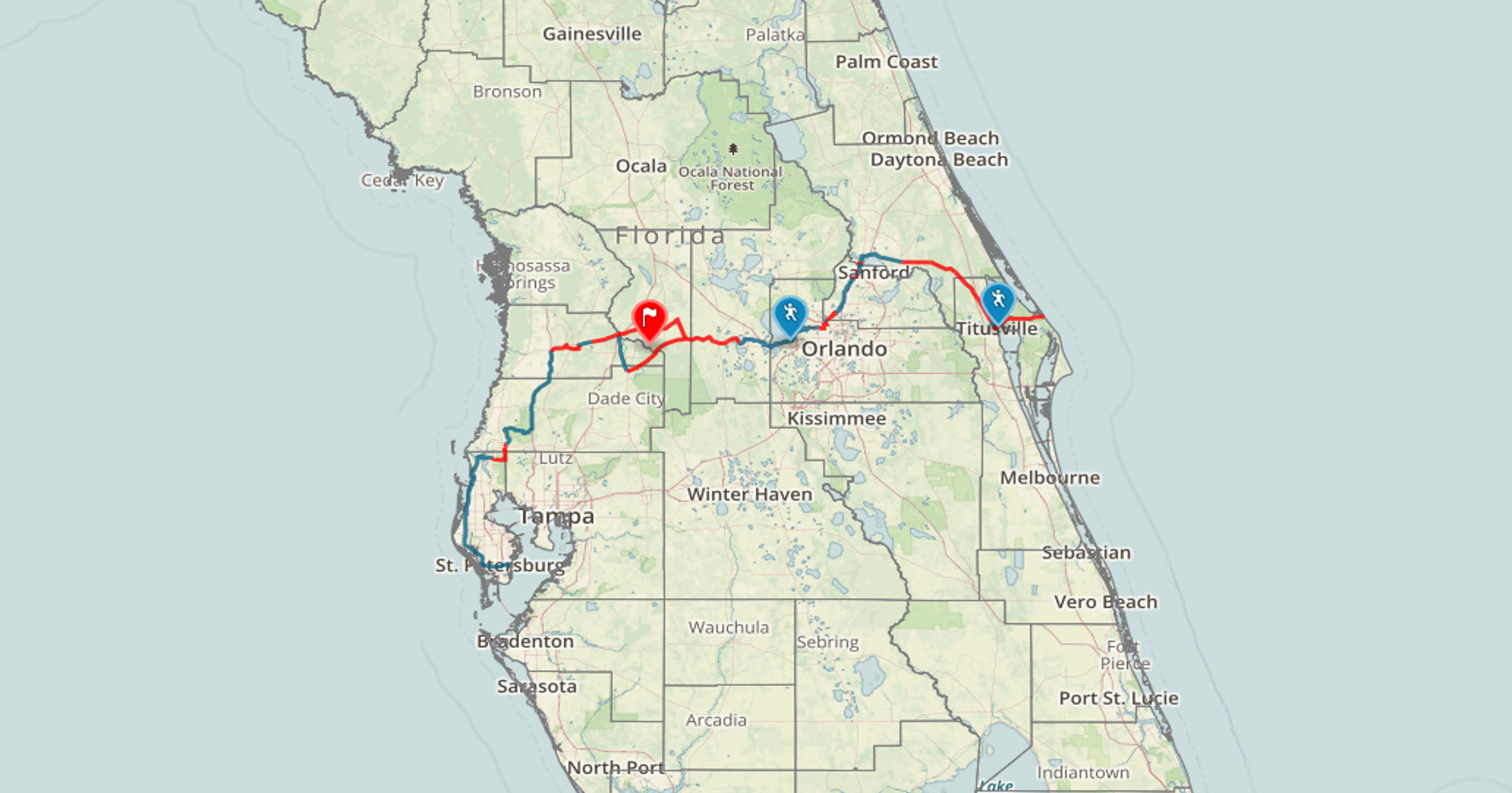 Interactive Florida S Coast To Coast Connector