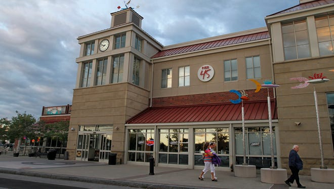 File photo: The Terminal building at the Port of Rochester, including a sign for defunct restaurant Pier 45.