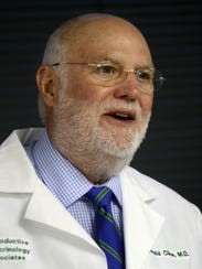 Dr. Donald Cline, a reproductive endocrinologist and