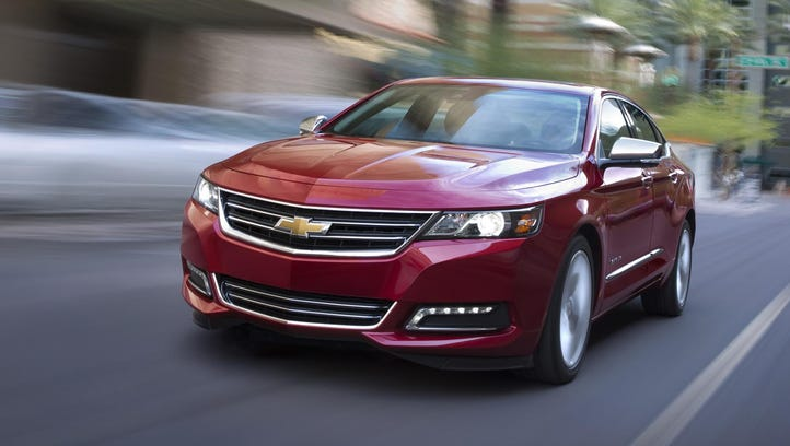The Chevrolet Impala is Consumer Reports' Top Pick