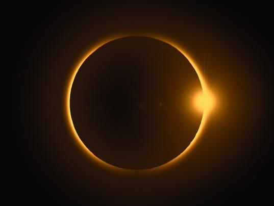 #stock Solar eclipse Stock Photo
