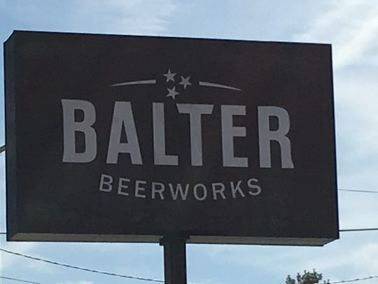 Balter Beerworks is at 100 S. Broadway.