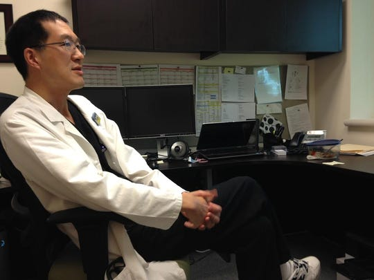Dr. Sam Wang, a physician at Radiation Oncology, speaks about the benefits of scribes.
