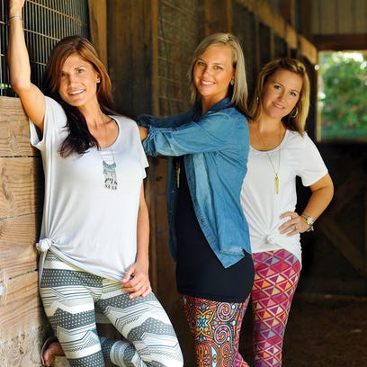 Lisa Beggs, LaluRoe Sales Consultant, Holly Bunnell,Trainer