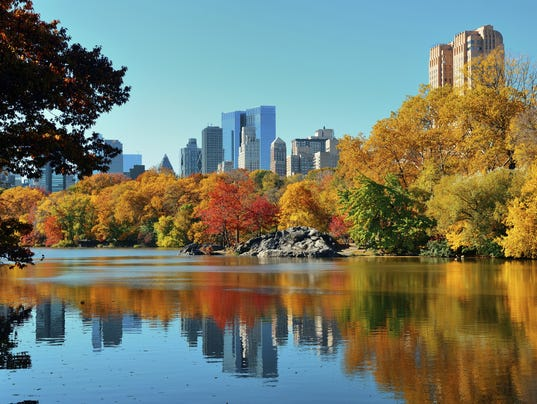 Top U.S. destinations for fall 2014