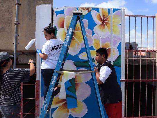 #VIVACC: @KSpaceContempo Art Camp promotes mural art, community involvement callertim.es/2sJ592M
