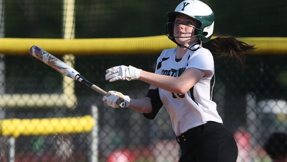 Yorktown's Sam Riccardulli, pictured here during a game against Suffern at Yorktown on May 23, is a first-team lohud all-star honoree this season.