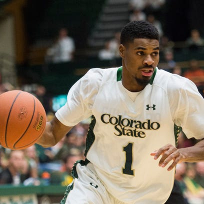 CSU's Antwan Scot, the Mountain West's leader in 3-point shooting, puts up a shot in a Jan. 27 win over San Jose State at Moby Arena.