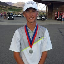 The second and final day of the 3A state tournament took place at Soldier Hollow on Wednesday. Snow Canyon's Triston Gardner finished second overall after shooting a two-day score of 136.