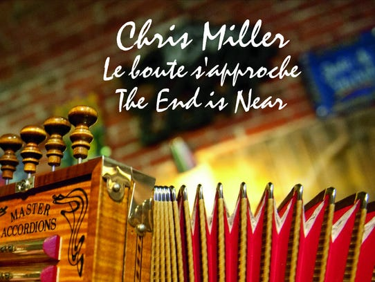 """Chris MIller's CD, """"The End is Near,"""" contains 18 tracks"""
