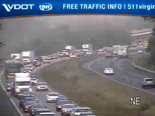 UPDATE: All lanes now open, accident cleared on I-64