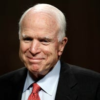 Nothing ever broke John McCain. Cancer won't either.