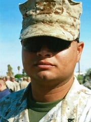 Omar Salazar was riding his motorcycle along Highway 62 on Nov. 5, 2010, when he was struck by another Marine, Joel Cohoe, at the intersection with Indian Cove Road. Salazar was flung from his bike and fatally injured.