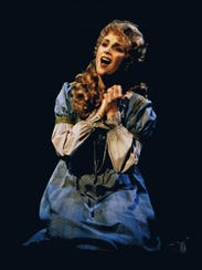 Jacquelyn Piro Donovan in 'Les Miserables' as Fantine.
