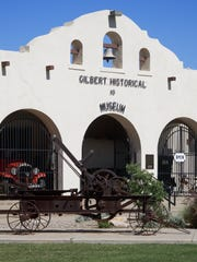 The town of Gilbert's first official school building