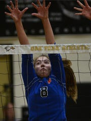 Westlake High's Jen Trephan was named the girls volleyball MVP of the Marmonte League.