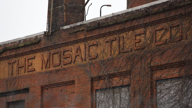 The land bank will seek demolition estimates for the former Mosaic Tile plant building. The project could cost millions of dollars, according to Andy Roberts, executive director of the land bank, who added they would also be looking to secure funding for the project.