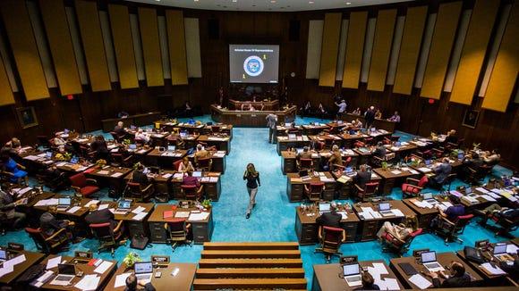 Arizona Legislature in session