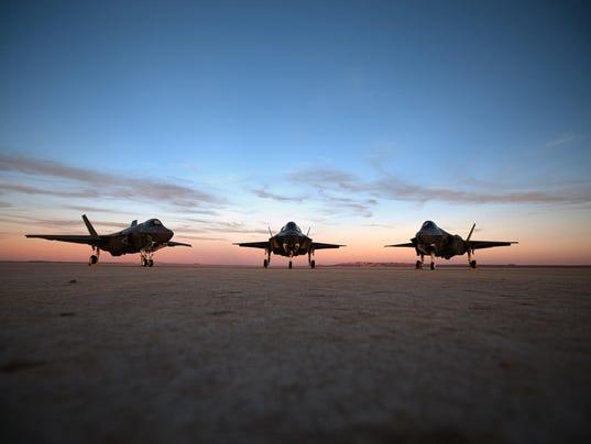 F-35 all three models
