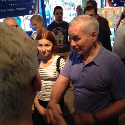 Mark Dayton at Minnesota State Fair