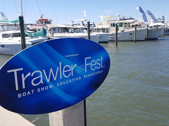 TrawlerFest, a boat show, educational seminar series and rendezvous for cruisers is underway at the Hutchinson Island Marriott Marina in Stuart through Sunday.