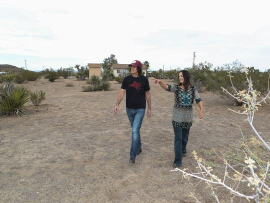 Jill and Ed MIchaels are hoping the city of Yucca Valley