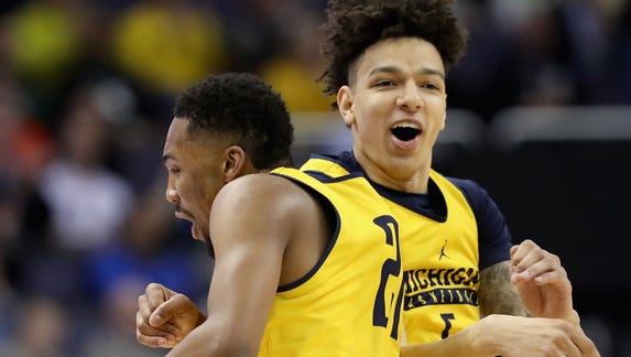 Live UM blog: Wolverines withstand wild 24 hours