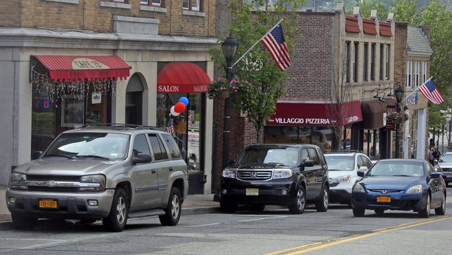 Individually-owned small businesses dot Main Street in Tuckahoe, photographed May 28, 2015. Some local residents feel that a Subway sandwich shop, which is planned to open in a vacant storefront on Main Street will negatively affect the character of the village.