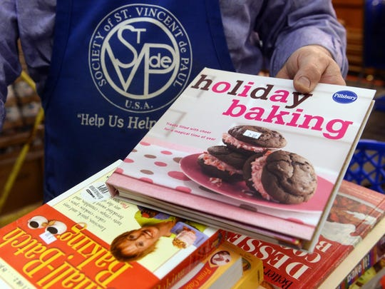 St. Vincent de Paul will hold its fundraising cookbook