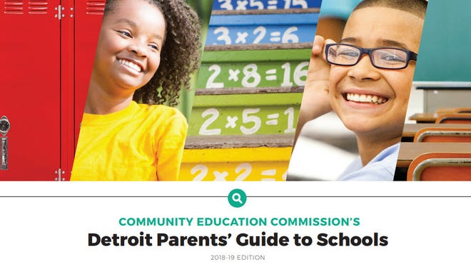The Community Education Commission released on Tuesday its Detroit Parents' Guide to Schools for the 2018-19 school year.