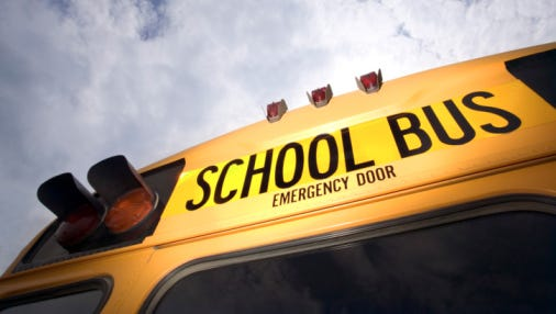 The Lee County school district has announced that traffic along Shangri-LaRoad does not require a right turn lane be constructed for Bonita Springs High School's buses. The site will still have two entrances, with the main entrance on Imperial Parkway planned to have an entrance light for students, staff and parents.