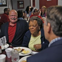 Indiana governor's race: John Gregg goes beyond the mustache