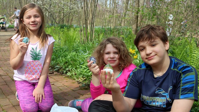 Minnetrista/Oakhurst Gardens will have a Glass Easter Egg Hunt on March 17.