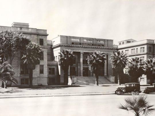 Good Samaritan Hospital as it appeared in Phoenix in