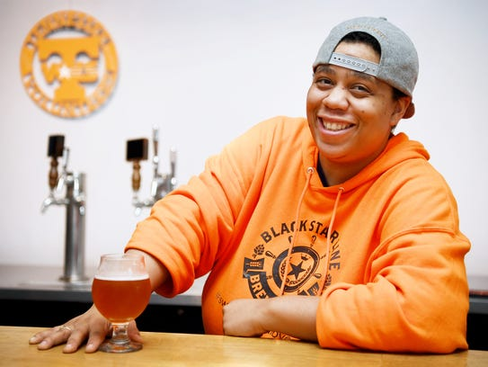 L.A. McCrae of Black Star Line Brewing Company October
