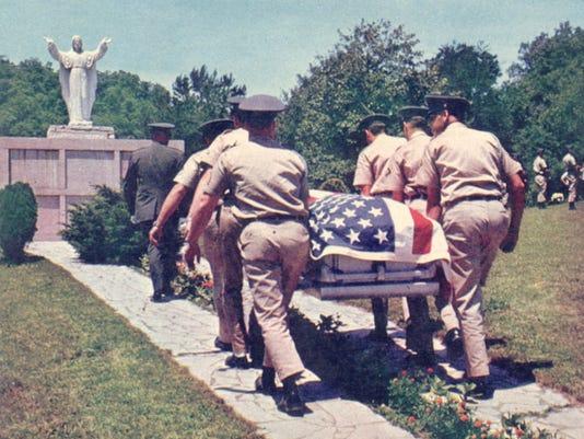 Title: Pfc Gibson Little Duck funeral