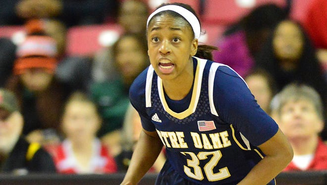 Notre Dame guard Jewell Loyd has emerged as even more of a standout player after a freshman season that saw her earn many honors.