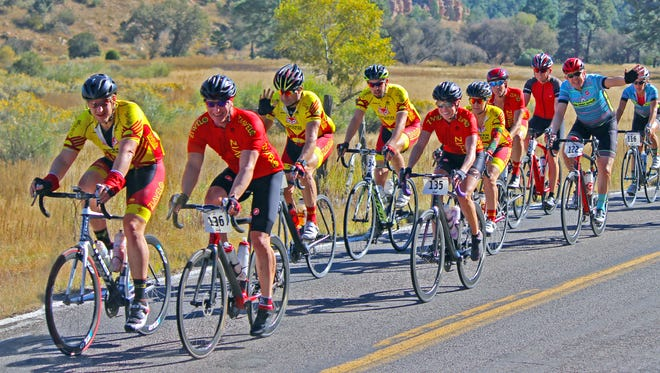 Cyclists participated in the Gila Monster Gran Fondo over the weekend. The 115-mile event followed the Gila Monster which is the final stage in the annual Tour of the Gila event that is held each spring in Silver City.