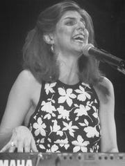 Marcia Ball wowed the crowd at the first of two early 1990s show at the Paramount Theatre in Abilene
