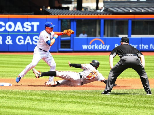 MLB: Baltimore Orioles at New York Mets