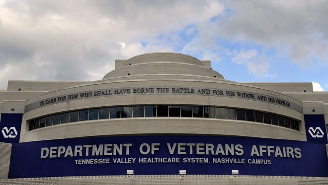 The Department of Veterans Affairs hospital in Nashville.