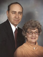 Norman and Lonnelle Lovejoy Rude were married 52 years.
